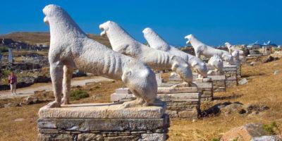 Delos Island - Mykonos Greece