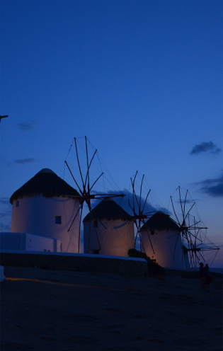 Mykonos Townhouse Hotel-Windmills
