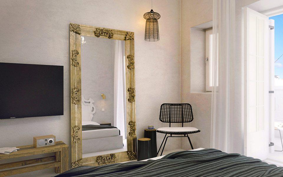 TownHouse Mykonos Hotel Terrace