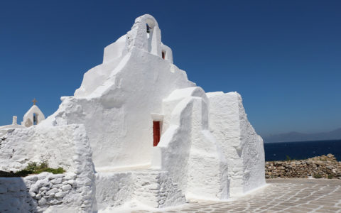 Mykonos - Church of Panagia Paraportiani