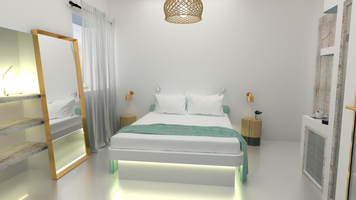 Mykonos Townhouse Superior Chic Room