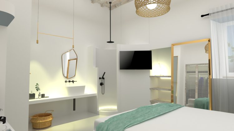 Mykonos Townhouse Superior Chic Room