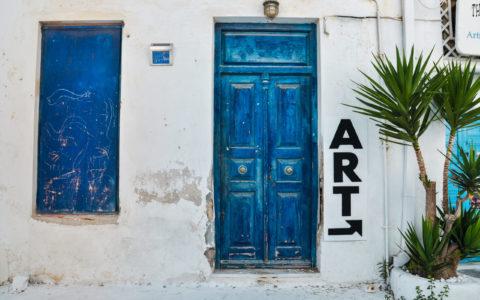 Art galleries mykonos