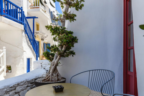 The TownHouse Mykonos Superior Chic Terrace