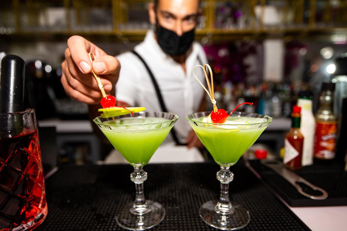 54 Cocktail bar image of bartender